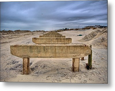 Empty Support Metal Print by Mike Horvath