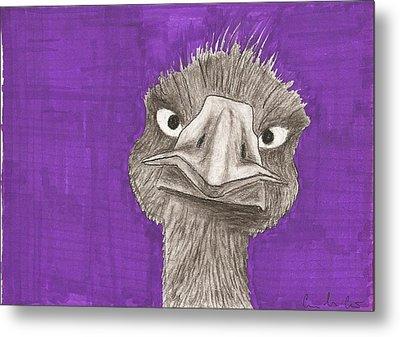 Emu Metal Print by Gabrielle  Leon-Guerrero