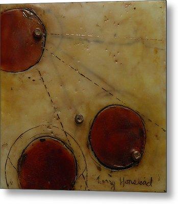 Encaustic #2 Metal Print by Terry Honstead