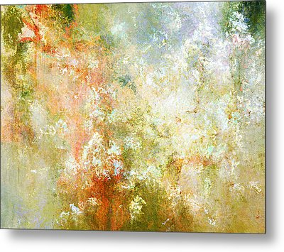 Enchanted Blossoms - Abstract Art Metal Print