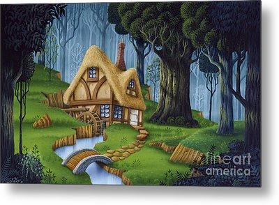 Enchanted Cottage Metal Print