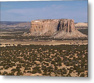 Enchanted Mesa Metal Print