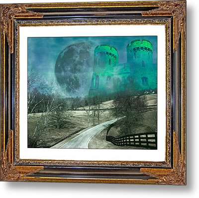 Enchanting Evening With Oz Metal Print