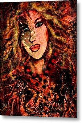 Enchanting Woman Metal Print by Natalie Holland