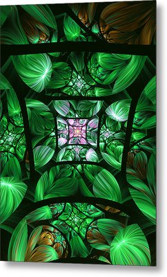 Encompassed Metal Print