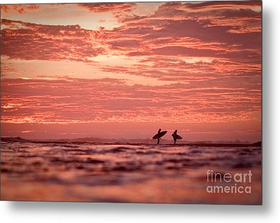 Metal Print featuring the photograph End Of A Perfect Day by Paul Topp