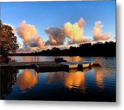End Of A Summer Day Metal Print