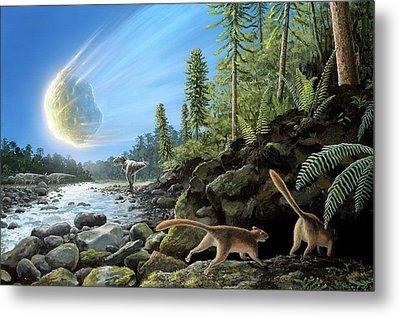 End Of Cretaceous Kt Event Metal Print by Richard Bizley