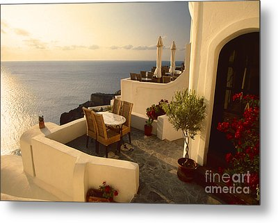 End Of Summer Metal Print by Aiolos Greek Collections