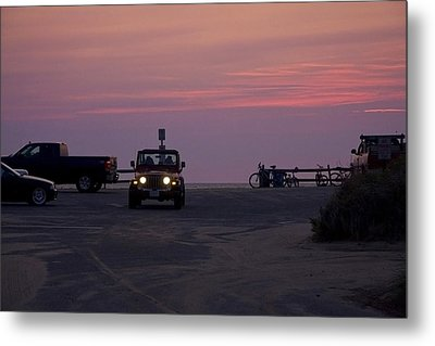 End Of The Day Metal Print by Michael Friedman