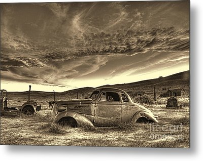 End Of The Road Metal Print