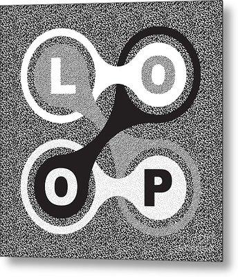 Endless Loop Metal Print by Igor Kislev