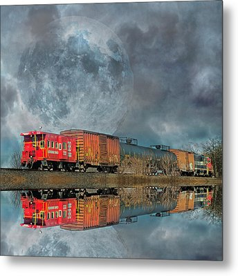End's Reflection Metal Print by Betsy Knapp