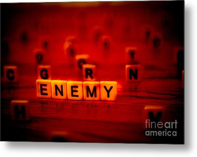 Enemy Metal Print by Liesl Marelli