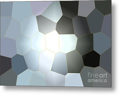 Energy Within - Abstract Art Metal Print by Carol Groenen