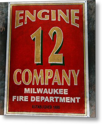 Engine 12 Metal Print