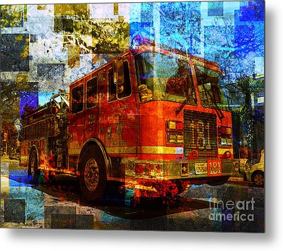 Engine 181 Metal Print by Robert Ball