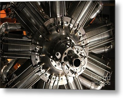 Engine Metal Print by Cynthia Snyder