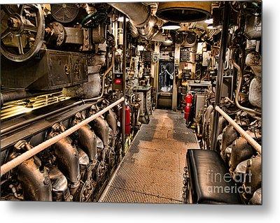 Engine Room Metal Print