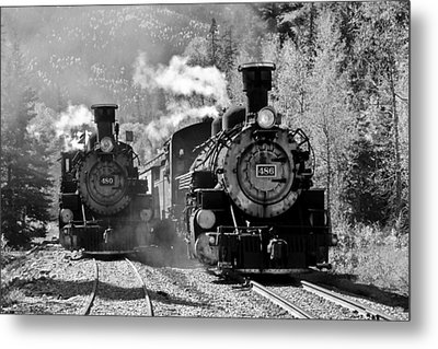 Engines 480 And 486 Metal Print by Marta Alfred