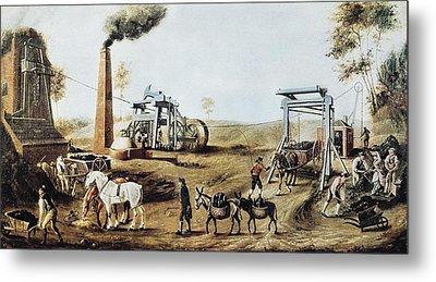 England 18th C.. Industrial Revolution Metal Print by Everett