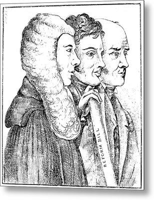 England Reform Bill, 1832 Metal Print by Granger