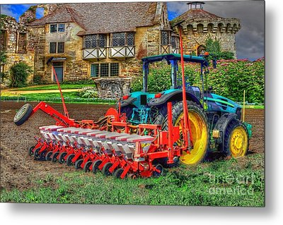 English Countryside Metal Print by L Wright