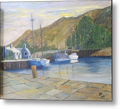 English Harbour Metal Print