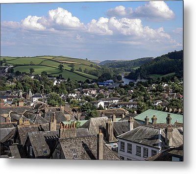 English Village Metal Print