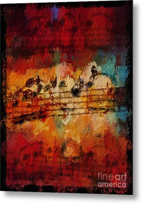 Metal Print featuring the digital art Engulfed by Lon Chaffin