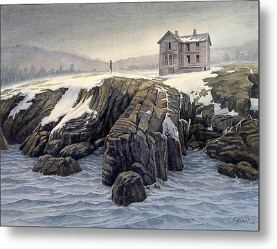 Enigma On The Shore Metal Print