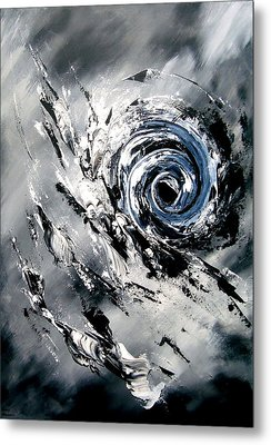 Enigma Metal Print by Thierry Vobmann