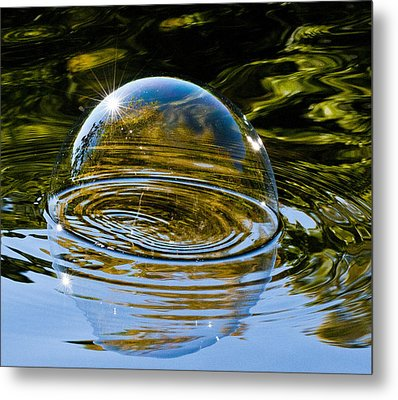 Enjoy This Moment Metal Print by Terry Cosgrave