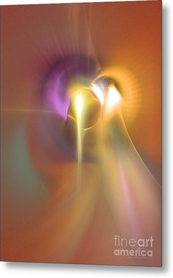 Enlightened Metal Print by Sipo Liimatainen