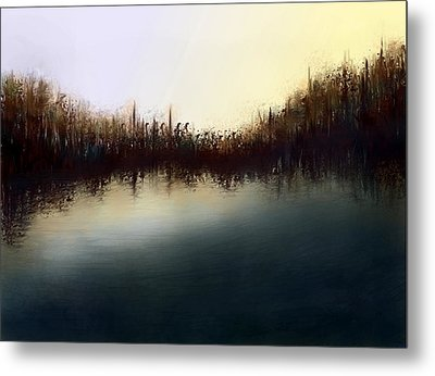Eno's Sunset Metal Print