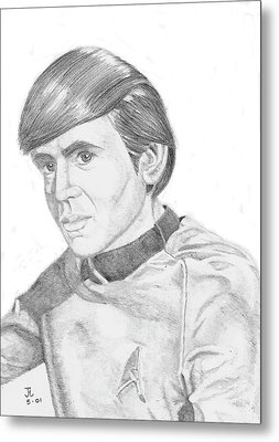 Ensign Pavel Chekov Metal Print