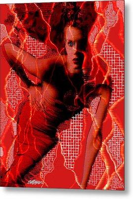 Ensnared Metal Print by Seth Weaver