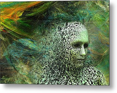 Entering A New Dimension Metal Print