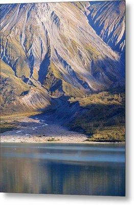 Entering Glacier Bay Alaska Metal Print