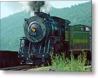 Metal Print featuring the photograph Entering The Station by Mike Flynn