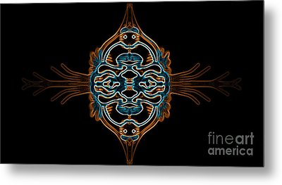 Entity Variation 3 Metal Print by Devin Cogger