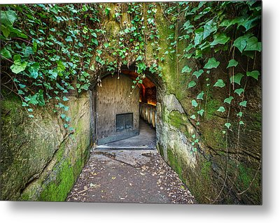 Entrance To A Winery Metal Print by Francesco Emanuele Carucci