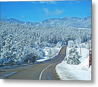 Entrance To Beulah Metal Print by Tammy Sutherland