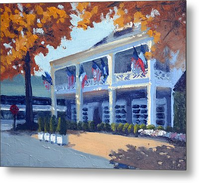 Entrance To The Inn Metal Print