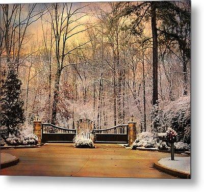 Entrance To Winter Metal Print by Jai Johnson