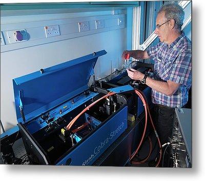 Environmental Remote Sensing System Metal Print