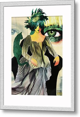 Envy Metal Print by Eve Riser Roberts