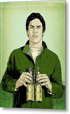 Envy Is Green Metal Print by Giuseppe Cristiano