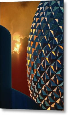 Epcot Metal Print by Kellice Swaggerty