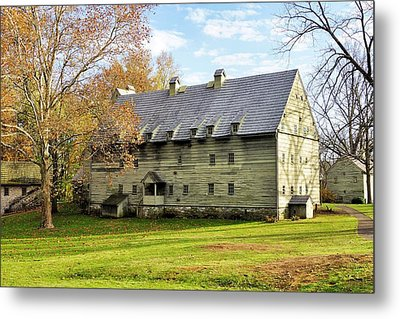 Ephrata Cloister Metal Print by Jean Goodwin Brooks